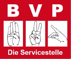 Logo BVP Behindertenvertrauenspersonen - Die Servicestelle